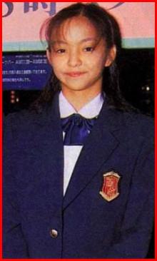 安室奈美恵 学生時代