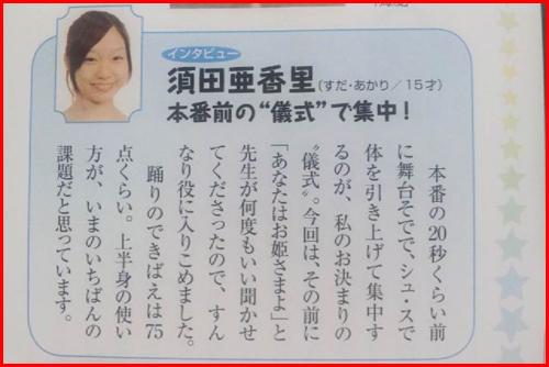 須田亜香里 学生時代